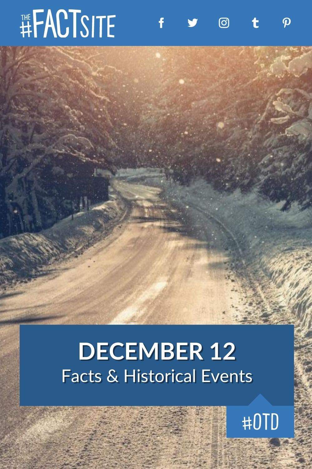 Facts & Historic Events That Happened on December 12
