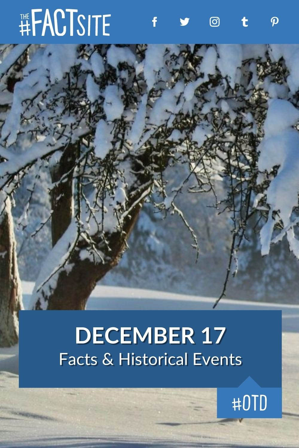 Facts & Historic Events That Happened on December 17