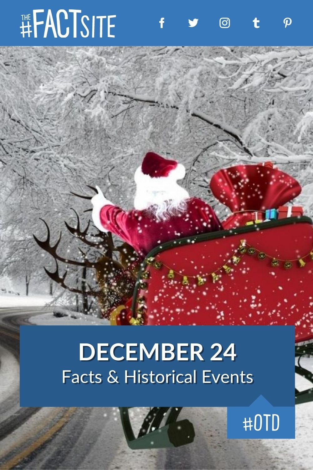 Facts & Historic Events That Happened on December 24