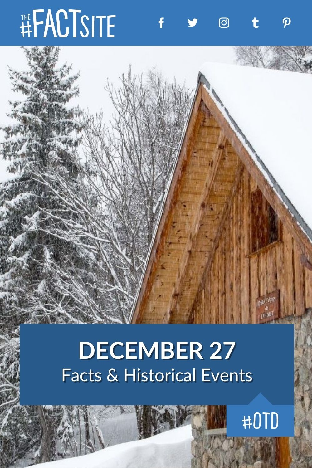 Facts & Historic Events That Happened on December 27