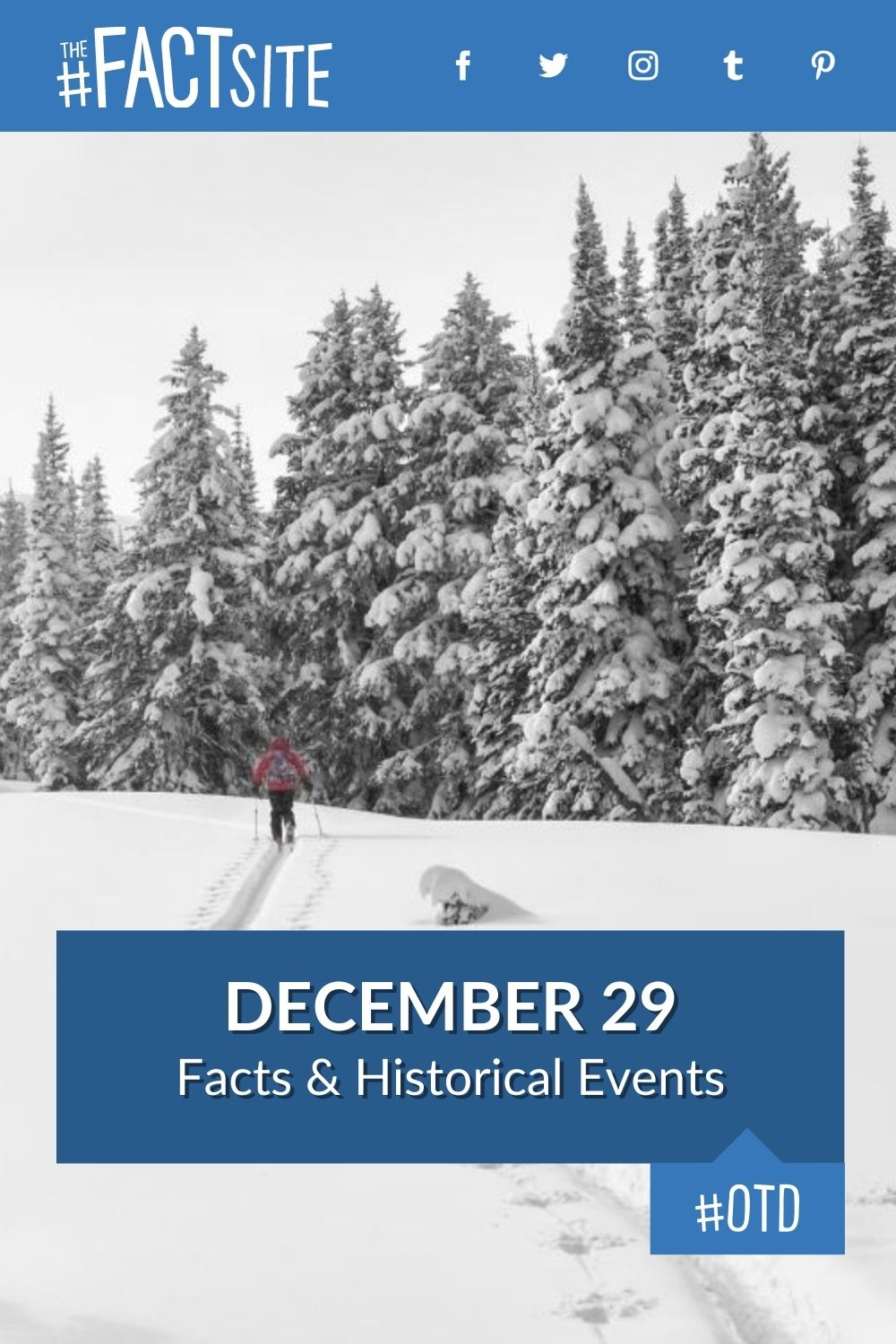 Facts & Historic Events That Happened on December 29