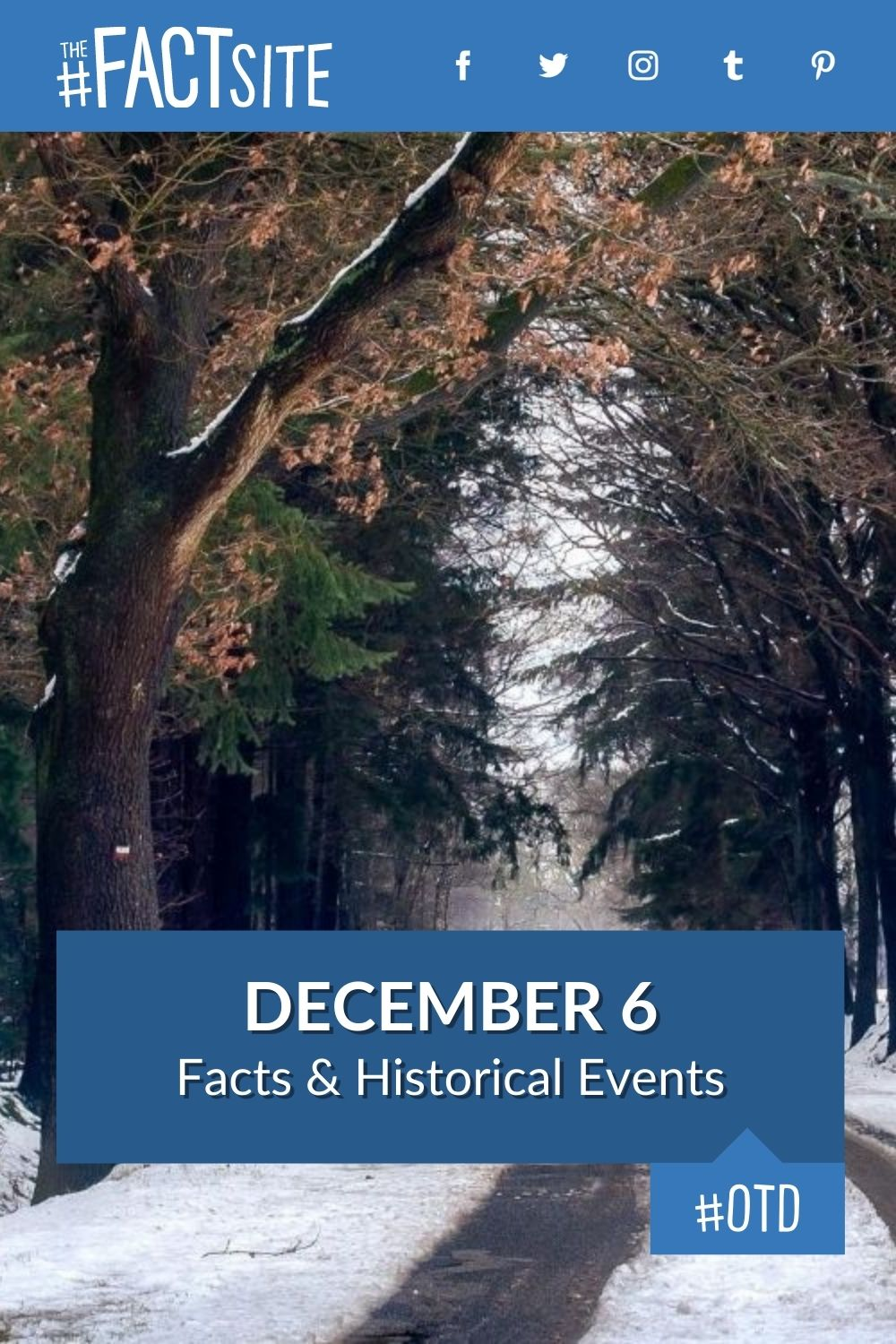 Facts & Historic Events That Happened on December 6